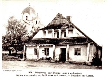 Dom podcieniowy w Brzozdowcach